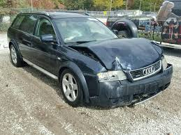 audi allroad 2003 flood salvage 2003 audi allroad station 2 7l 6 for sale in