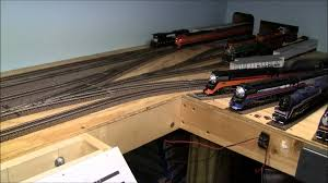 how to build a train layout in a small space youtube
