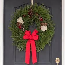 fresh wreaths original maine balsam fir christmas wreath fresh wreath