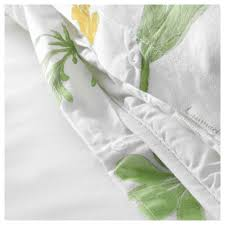 Green And White Duvet Strandkrypa Duvet Cover And Pillowcase S Full Queen Double