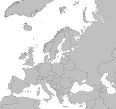 blank political map of europe 2014 calendar