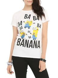 minion halloween shirt despicable me minions ba ba ba girls t shirt topic