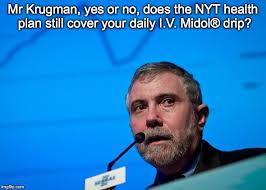 Midol Meme - krugman nyt memes imgflip