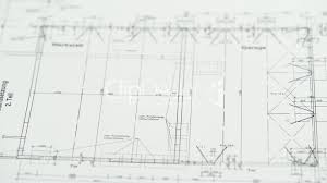 house measurements blueprint for house construction royalty free video and stock footage