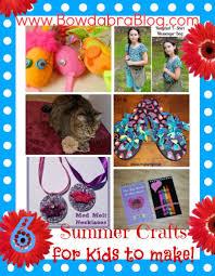 6 summer crafts for kids to make bowdabra design team