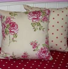 Shabby Chic Pillow Covers by Vintage Chic Floral Dusky Pink Green Cushion Covers Green