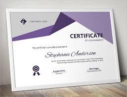 psd certificate templates