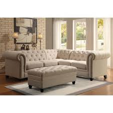 Leather Sectional Sofa Traditional Sofas Center 35 Incredible Tufted Sectional Sofa Picture Design