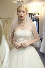 Celebrity Wedding Dresses Iggy Azalea Wedding Dress Shopping James Corden Celebrity