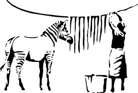 banksy zebra stripe washing lady wall decal sticker street art banksy zebra stripe washing lady wall decal sticker street art zebras artist graffiti stencil urban walls wallart spray paint