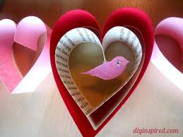 valentines day craft diy garland diy inspired