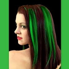 Colored Hair Extension by Color Hair Extensions Hair Shines