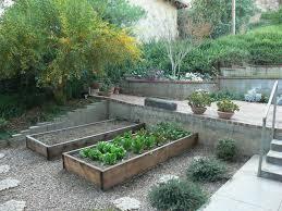 terraced garden designs cool under step deck lighting outdoor