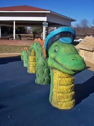 sea monster at chessie u0027s backyard playground u003e u003e the joy troupe