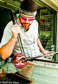 blown glass ornaments and suncatcher balls at blown glass