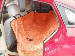 pet dog cat waterproof car seat cover mat blanket cradle bed rear