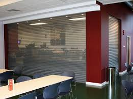 Interior Security Window Shutters Steel Security Roller Shutters High Quality Strong Efficient
