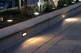 Kichler Step Lights Step Light Led Solar 1 Brick Lefula Top