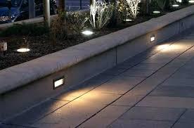 Kichler Step Lights Step Light Led Solar 1 Brick Lefula Top