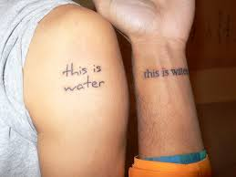 sidenote running diary this is water tattoos