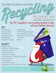 naughty or nice recycling checklist askhrgreen org