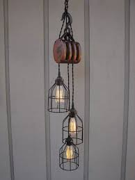 Pulley Pendant Light Stunning Pulley Pendant Light Fixture 22 With Additional Pendant