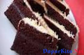Teh Bubuk bahan dasar resep cake coklat lapis 1 2 sendok teh vanili bubuk