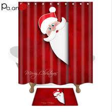 Popular Christmas Shower Curtains Buy Cheap Christmas Shower