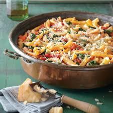 recipes with pasta one pot pasta with tomato basil sauce recipe myrecipes