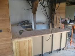 meuble de cuisine fait maison la cuisine premiére partie ma maison bois