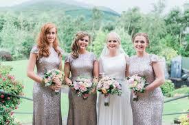 silver sequin bridesmaid dresses 7 stunning bridesmaids dress trends for 2017 weddingsonline