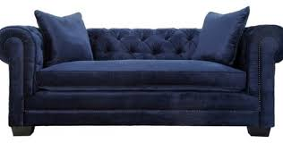 Navy Blue Tufted Sofa Amazing Living Rooms Navy Blue Tufted Sofa Cre8tive Designs Inc
