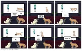 the dog movie storyboard by wolved101