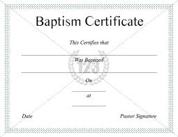 christening certificate template free download of baptism certificate template