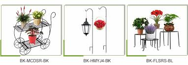 Flower Pot Holders For Fence - outdoor garden fence hanging ornamental iron metal wire flower pot