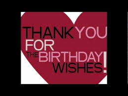 thank you for your birthday wishes flv