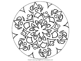 free printable rangoli coloring pages for kids for diwali