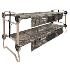 Cot Bunk Beds Disc O Bed O Bunk Realtree Xtra 82 In Large Bunk Beds With