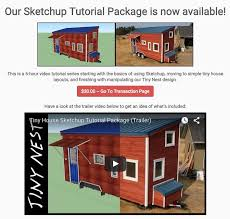 design your own 3d model home this is a 6 hour tiny house sketchup tutorial series that shows
