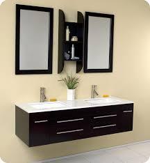 Bathroom Vanities Clearance Double Sink Bathroom Vanity Clearance Brown Laminated Wood