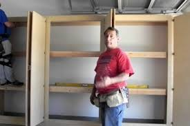 How To Build Garage Storage by Garage Storage Cabinets Cheap Storage Designs