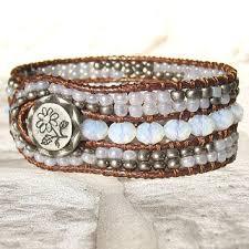 beaded leather cuff bracelet images 21st birthday bracelet initial bracelet from forgetmenotwishes jpg