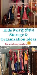 kids dress up clothes storage u0026 organization ideas