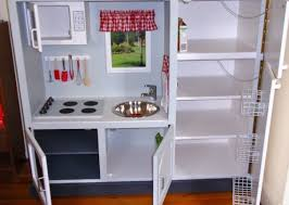diy play kitchen ideas salvaged tv unit 10 fantastic diy play kitchens