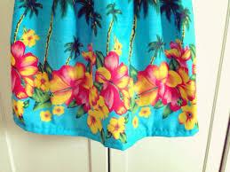 hawaiian pattern skirt hawaiian gwenstella made