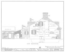House Drawings by File Drawing Of The East Elevaton Of The Felix Vallee House In Ste