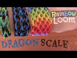 rubber cuff bracelet images Rainbow loom dragon scale cuff bracelet how to socraftastic jpg