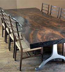 Walnut Slab Table Vermont Woods Studios Fine Furniture And Home Decor