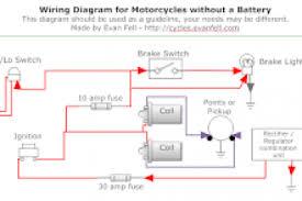 simple motorcycle indicator wiring diagram wiring diagram