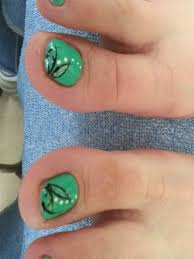 toe design le le nails salon u0026 spa